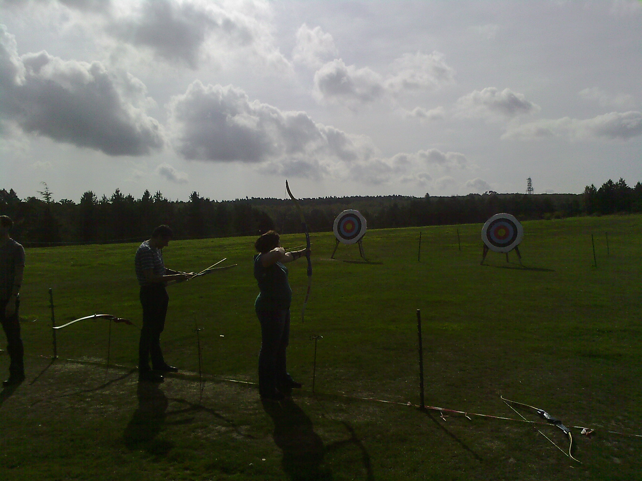 Great weather for Archery!